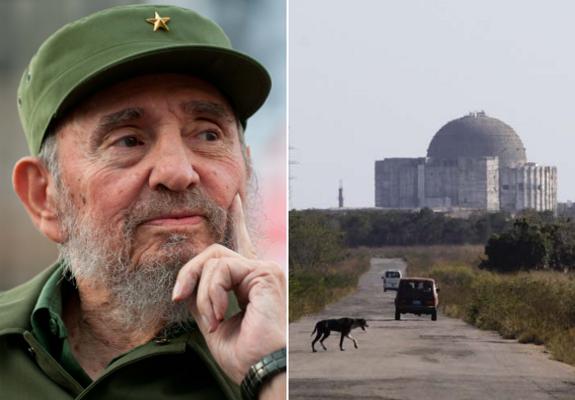 Cuba Juraguá central nuclear chernobyl accidente